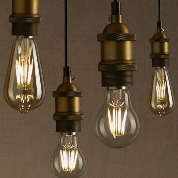 Fantastic Retro Filament Bulbs